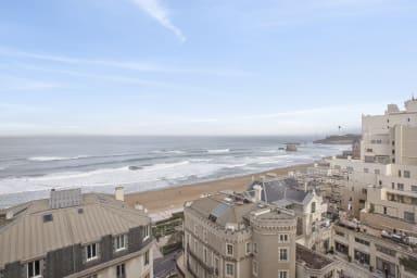 Charmant T4 3*** avec exceptionnelle vue mer au coeur de Biarritz - Welkeys