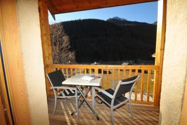 Profitez de la vue magnifique depuis le balcon © B.Boone