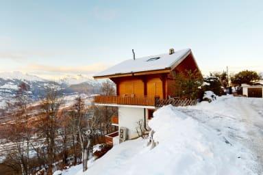 Appartement cosy à Veysonnaz, proche des pistes des 4 Vallées