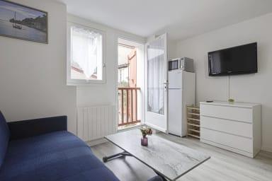 Modern and cosy studio at the heart of Saint-Jean-de-Luz - Welkeys