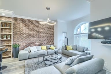 2 Bedroom furnished apartment for rent with rooftop patio