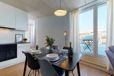 Magnifique appartement attique moderne et lumineux au centre ville #72