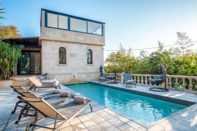 Cannes Petit Juas Villa Exclusive 6 chambres 6 bains Piscine Hammam Sauna