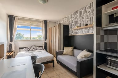 Cosy studio less than 10 min drive from the beaches in Lattes - Welkeys