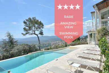 ☀️ PANORAMIC VIEW - Architect-designed villa with swimming pool ☀️