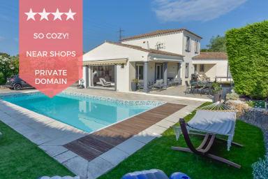 KIKILOUE ☀️ Villa 4 chambres avec piscine dans domaine privé ☀️