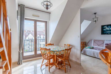 Charmant appartement avec balcon à 2 min de la plage de Cabourg - Welkeys