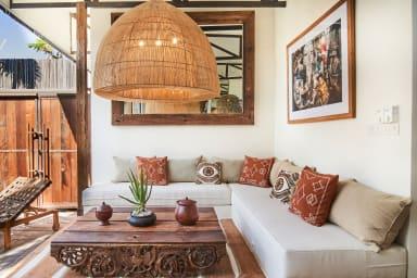 NEW! Tropical design, Private Villa Complex, 6 BR, Umalas w/ staff