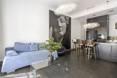 T2 design dans une résidence de standing au coeur de Biarritz - Welkeys