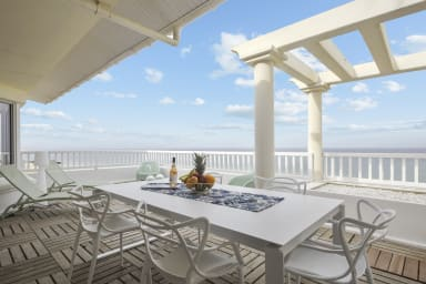 T4 de charme avec terrasse et superbe vue sur l'océan à Capbreton - Welkeys