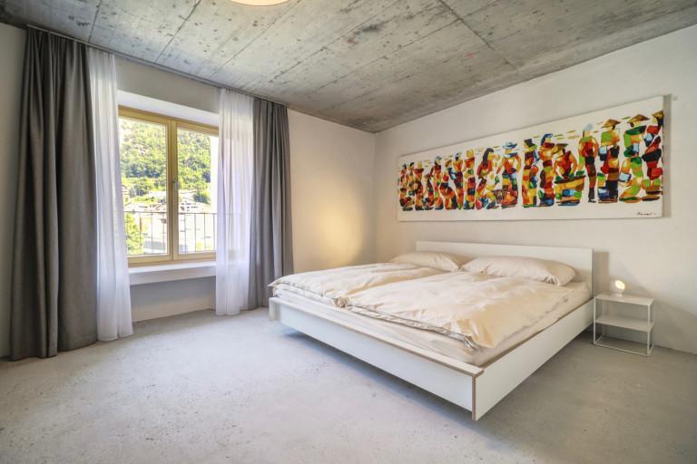Maison moderne dans la vieille ville de Viège in Visp ...