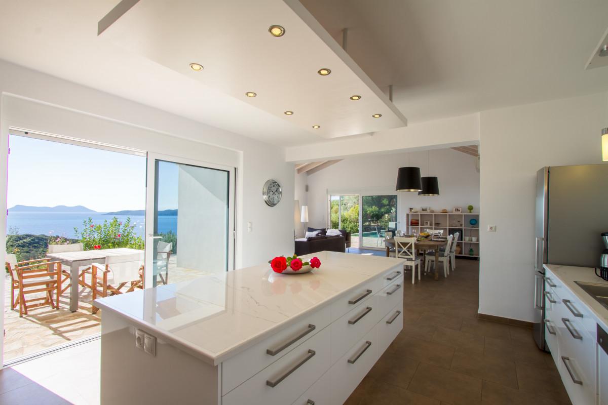 Villa Lefki – weitläufige, moderne Villa mit privatem Pool ...