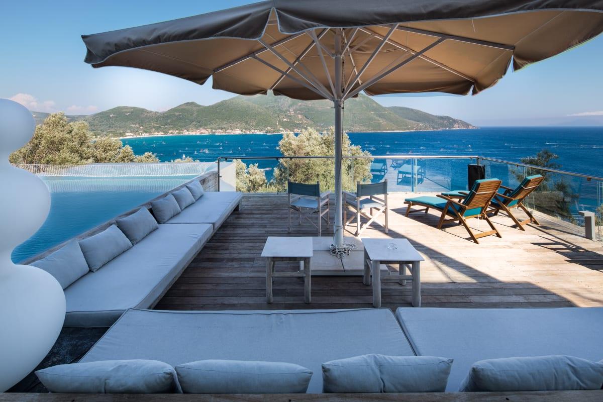 Villa Doukato Exclusive On Vassiliki Bay With Private Dock