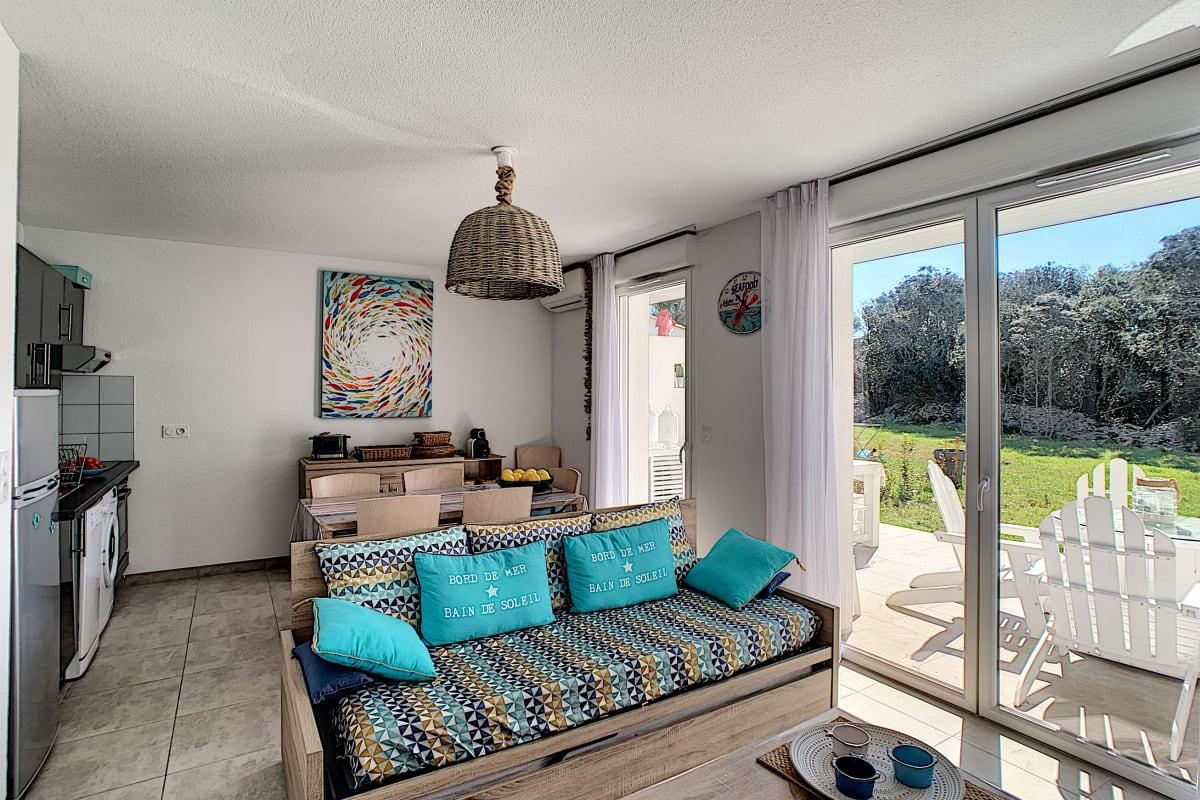 Filtre Piscine Lave Vaisselle villa t3 arba barona, maquis, piscine in bonifacio — oleaday