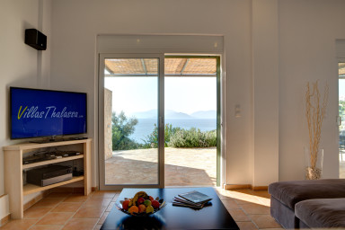 Living room with a beautiful view for greater satisfaction and enjoyment