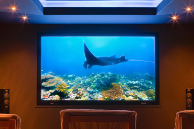 Feel the luxury of your holiday with this underground cinema