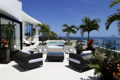 Luxury penthouse rental - rio de janeiro - Terrace - The Scorces Penthouse
