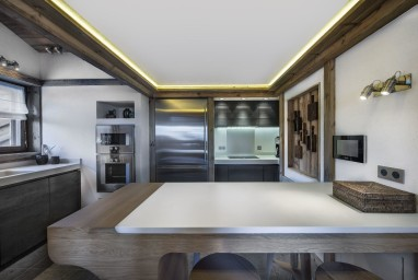 ski holidays france - Courchevel - Kitchen - Chalet Cryst'Aile