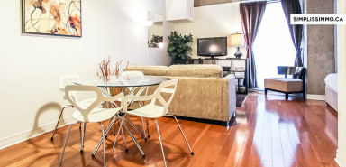 Short term rental at Lofts Saint-Alexandre