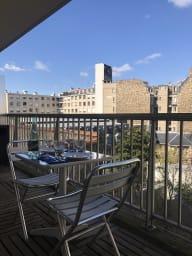 Appartement avec terrasse, Trocadéro