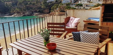 Terrace Penthouse on the Beach! - Tamariu Beach 2