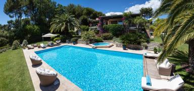 Villa Santa Paula / Villa méditerranéenne avec vue mer dans domaine privé