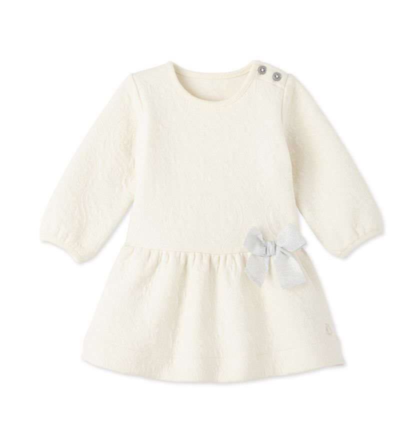 Baby girl's quilted dress
