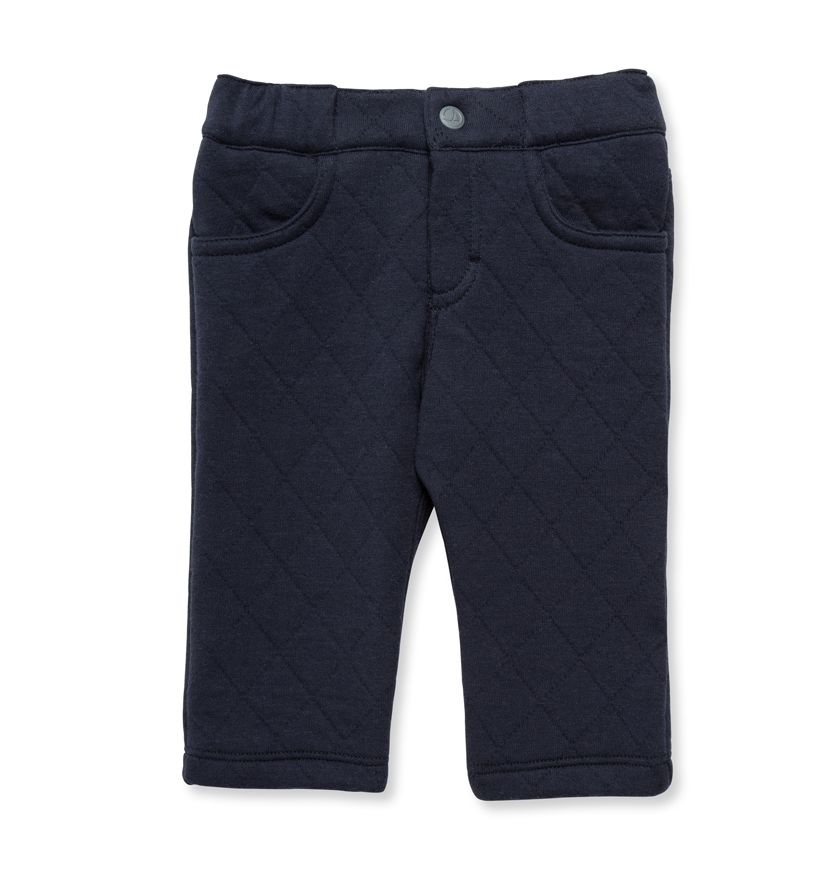 Baby boy's quilted pants