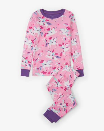 Winged Unicorns Organic Cotton Pajama Set