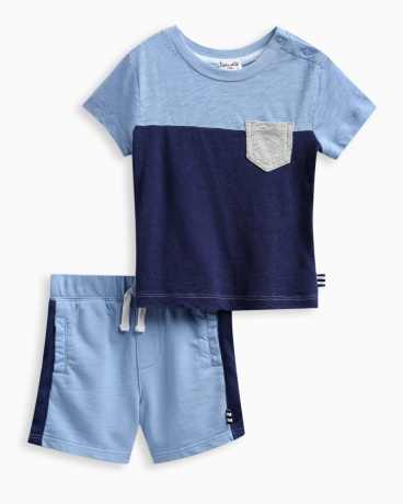 Baby Boy Pocket Tee Set