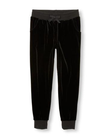 Girls Active Velour Jogger Pants
