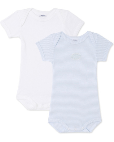 Pack of 2 baby boy bodysuits