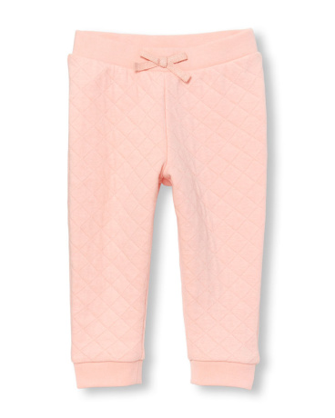 Toddler Girls Active Quilter Jogger Pants