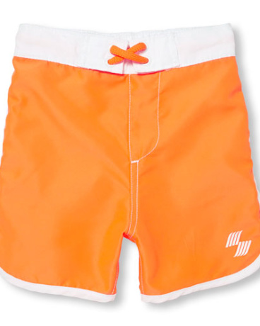 Baby And Toddler Boys Neon Swim Trunks