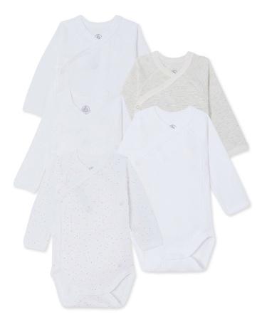 Set of 5 baby bodysuits
