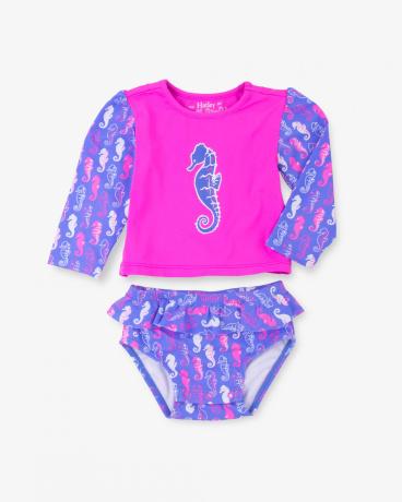 Seahorse Baby Rashguard Set