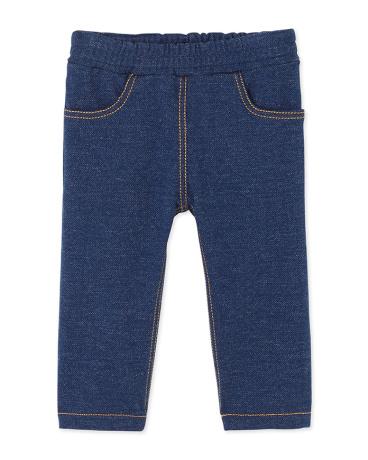 Baby boy's stretch fleece pants