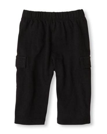 Baby Boys Knit Cargo Pants