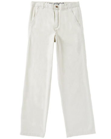 Little Boys' Flat Front Twill Pant (2T-7)