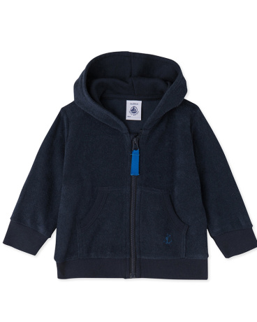 Baby boys' zipped sweatshirt