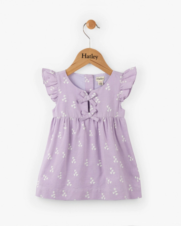 Sprinkled Hearts Baby Pinafore Dress