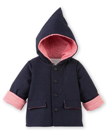 Baby boy's hooded jacket