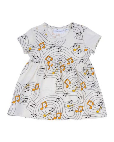 Musical Print Dress
