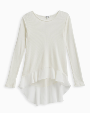 Girl Thermal with Chiffon