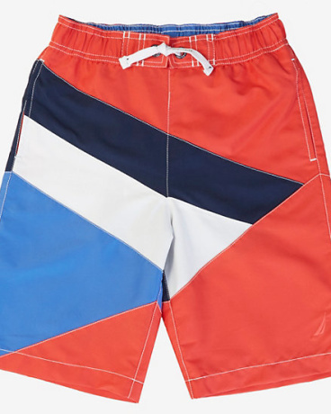 Little Boys' Signal Flag Swim Trunk (2T-7)