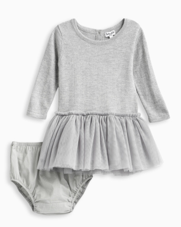Baby Girl Tutu Sweater Dress