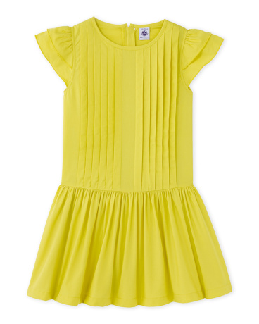 Girl's dress in cotton voile