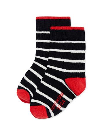 Boy's striped socks