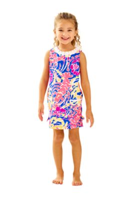 Girls Little Lilly Classic Shift Dress