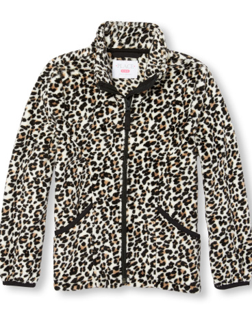 Girls Leopard Print Favorite Jacket